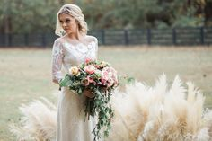 bridal inspiration - photo by Carography Studios http://ruffledblog.com/georgia-woodland-wedding-inspiration