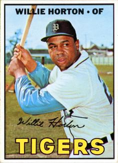 1967 Topps Willie Horton Detroit Tigers Baseball Card for sale online Detroit Sports, Detroit Tigers Baseball, Detroit Lions, Baseball League, Baseball Players, Baseball Uniforms, Baseball Card Values, Baseball Cards, Baseball Movies