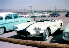 59 Corvette custom… on the street circa 1961