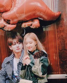 fav human beings on the planet 💖 . Kpop Couples, Cute Couples, Bts Jungkook, Taehyung, Bts Twice, Korean Lessons, Bts Girl, Rose Park, Blackpink And Bts