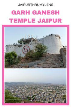 Garh Ganesh Temple Jaipur, popular temple dedicated to Lord Ganesha