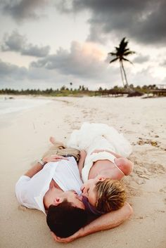 post wedding session on the beach in mexico wedding photos Couples Beach Photography, Wedding Photography Poses, Wedding Poses, Wedding Photoshoot, Wedding Ideas, Creative Photography, Wedding Inspiration, Newborn Photography, Wedding Details