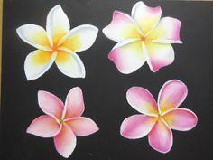KIMIGONブログ「美味しいチョークアート」:チョークアートでお花の練習★