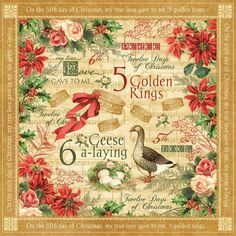 Webster's Pages Twelve Days of Christmas, we will have it in the store, but oh my goodness it's so lovely!
