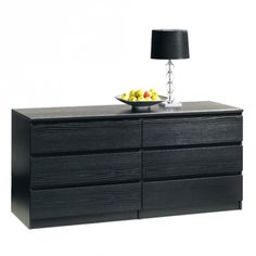 BRONDBY Dresser (3+3 Drawer)