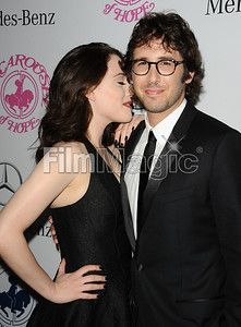 BEVERLY HILLS, CA - OCTOBER 11: Actress Kat Dennings and singer Josh Groban attend the 2014 Carousel of Hope Ball at The Beverly Hilton Hotel on October 11, 2014 in Beverly Hills, California. (Photo by Jason LaVeris/FilmMagic)