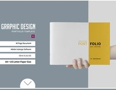 "Check out new work on my @Behance portfolio: ""Graphic Design Portfolio Template"" http://be.net/gallery/49603093/Graphic-Design-Portfolio-Template"