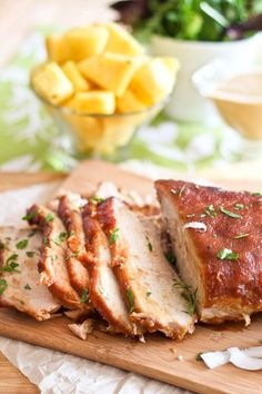 Pineapple Braised Pork Roast | by Sonia! The Healthy Foodie