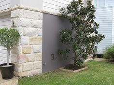 Sandstone Cladding was developed to make publicly available a product that we as stonemasons have been creating and using for years. Sandstone Cladding, Sandstone Wall, Veranda Railing, Outdoor Plants, Outdoor Decor, Sydney Beaches, Garage Exterior, Garden Walls, Limestone Flooring