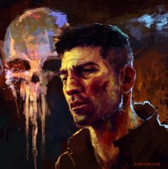frank castle/ punisher fanart