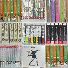 Weekly Photo Challenge: NUMBERS - Numbered Manga & Anime books