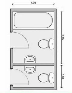 Bathroom Layout Plans, Small Bathroom Layout, Small Bathroom Dimensions, Affordable House Plans, Modern House Floor Plans, Bathroom Design Luxury, Container House Design, Types Of Furniture, Simple House