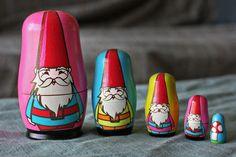 gnome nesting dolls