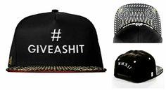 #HighSwag Giveashit Snapbacks available now www.houseoftreli.com