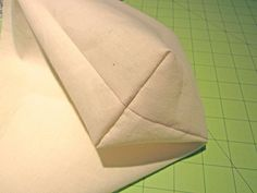 How to sew box corners