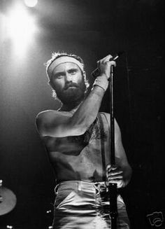 Phil Collins ( from Genesis) Peter Gabriel, Phill Collins, Banks, Steve Hackett, Psychedelic Bands, The Music Man, Idole, Progressive Rock, History Photos