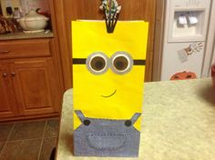#Minion Cups, #DollarTree, #DanaVento, #Crafts, #diy, #despicableme