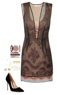 """""""Untitled #378"""" by h1234l on Polyvore featuring STELLA McCARTNEY, Gianvito Rossi, Elsa Peretti, Jennie Kwon and Charlotte Tilbury"""