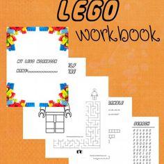 FREE Printable Lego Workbook