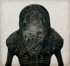 Digital art by Vladimir Chebakov (Chequia) Arte Horror, Horror Art, Dark Fantasy Art, Dark Art, Satanic Art, Macabre Art, Creepy Art, Scary, Sombre