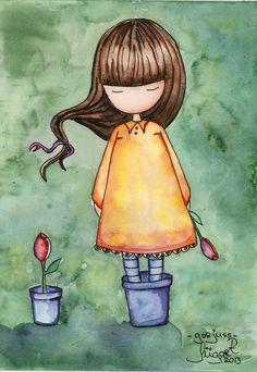 Gorjuss is just gorjuss... Gorjuss fan art by Mariliizu84.deviantart.com on @deviantART