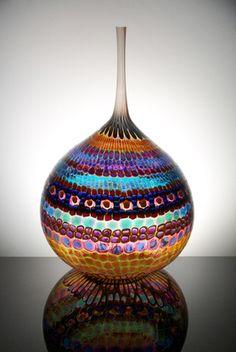 """Stephen Powell: Additional Glass Art    """"Teasing Jupiter Johnson"""""""