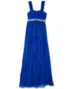 For Phoebe?  BCX Girls' Jeweled Maxi Dress - Kids Girls 7-16 - Macy's