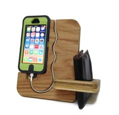 IPhone  case Dock  Valet  iphone 4 4s 5 5s by undulatingcontours, $30.00