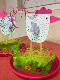 Ongetiteld – Österliches basteln – Welcome The Crafts Paper Crafts For Kids, Preschool Crafts, Paper Crafting, Fun Crafts, Diy And Crafts, Arts And Crafts, Easter Activities, Infant Activities, Easter Art
