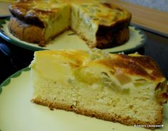 Irène`s Leckereien♥: Schneller Rhabarberkuchen mit Schmandguss