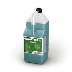 Ecolab Regain - sredstvo za čišćenje i odmašćivanje površina u kuhinjama. Regain je mješavina nisko plijenećih lužina, ne sadrži fosfate i otapala.