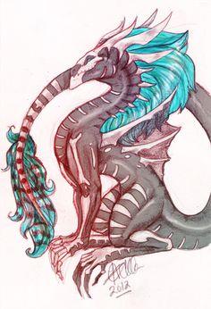 Bone dragon by DinKelion