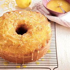 Lemon Curd Pound Cake