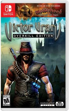 Victor Vran: Overkill Edition (Nintendo Switch, for sale online Nintendo Switch Games, Arsenal, Action Rpg, Classic Rpg, Blu Ray, Game Item, First Game, New Chapter, Games