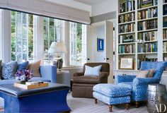 13 Rooms That Utilize Cool Colors Beautifully Photos   Architectural Digest