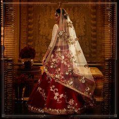 Wedding indian lengha red lehenga tarun tahiliani new ideas