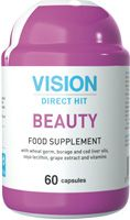 The ingredients in the Beauty biologically active food supplement make up for a deficiency of polyunsaturated fatty acids, vitamins, and other bioactive substances necessary to restore and support healthy skin, hair, and nails and help slow the body's aging processes. Is the prevention of cardiovascular diseases.