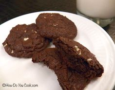 How Do You Cook.com: Chocolate Andes Creme de Menthe Cookies