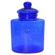 Purchase the Medium Blue Glass Canister By Ashland® at Michaels.com. This blue glass canister by Ashland makes the perfect addition to your Boho-inspired home decor.