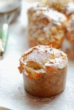 Simply So Good: Almond Brioche Buns