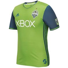 Seattle Sounders FC adidas 2016/17 Authentic Primary Jersey - Rave Green - $119.99