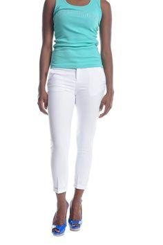 Trisha Crop Trouser Cropped Trousers, Rihanna, White Jeans, Pants, Dresses, Fashion, Trouser Pants, Vestidos, Moda