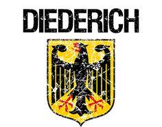 Diederich Surname
