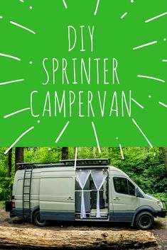Check out our DIY Sprinter Camper Van for Van Life. 825 Watts of Solar AND a composting toilet...