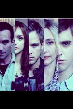 This is the only time Norman and Dylan have looked like brothers to me. Freddie Highmore, American Psycho, American Horror Story, Norman Bates, Bates Family, The Exorcist, Claire Holt, Bates Motel, Orphan Black