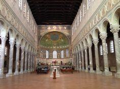 Basilica Sant'Apollinare in Classe: One of 8 UNESCO World Heritage Sites in Ravenna Ravenna Italy, Italian Paintings, World Heritage Sites, Day Trip, Art And Architecture, Tuscany, Venice, Europe, City