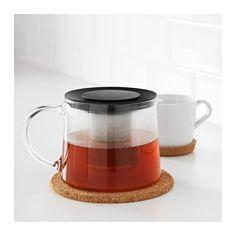 RIKLIG Teapot, glass