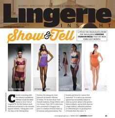 A shot of our Affinitas FW13 Collection going down the runway at Lingerie Fashion Week!  As featured in the March print issue of UK trade title Lingerie Insight. Read online here: http://edition.pagesuite-professional.co.uk/Launch.aspx?EID=aaf5883b-990d-4cf4-8879-514e5da7a4cf  @Lingerie Insight #LingerieFW  https://www.facebook.com/photo.php?fbid=578265668852206&set=a.115781478433963.19326.111339788878132&type=3&theater