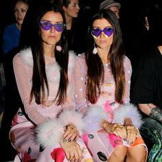 Shades of Pink in Alice McCall and Dyspnea