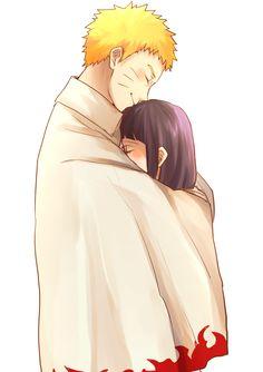 Anime: Naruto Personagens: Naruto e Hinata Uzumaki